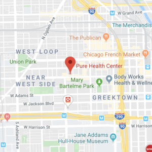 Chicago location of Pure Health Center